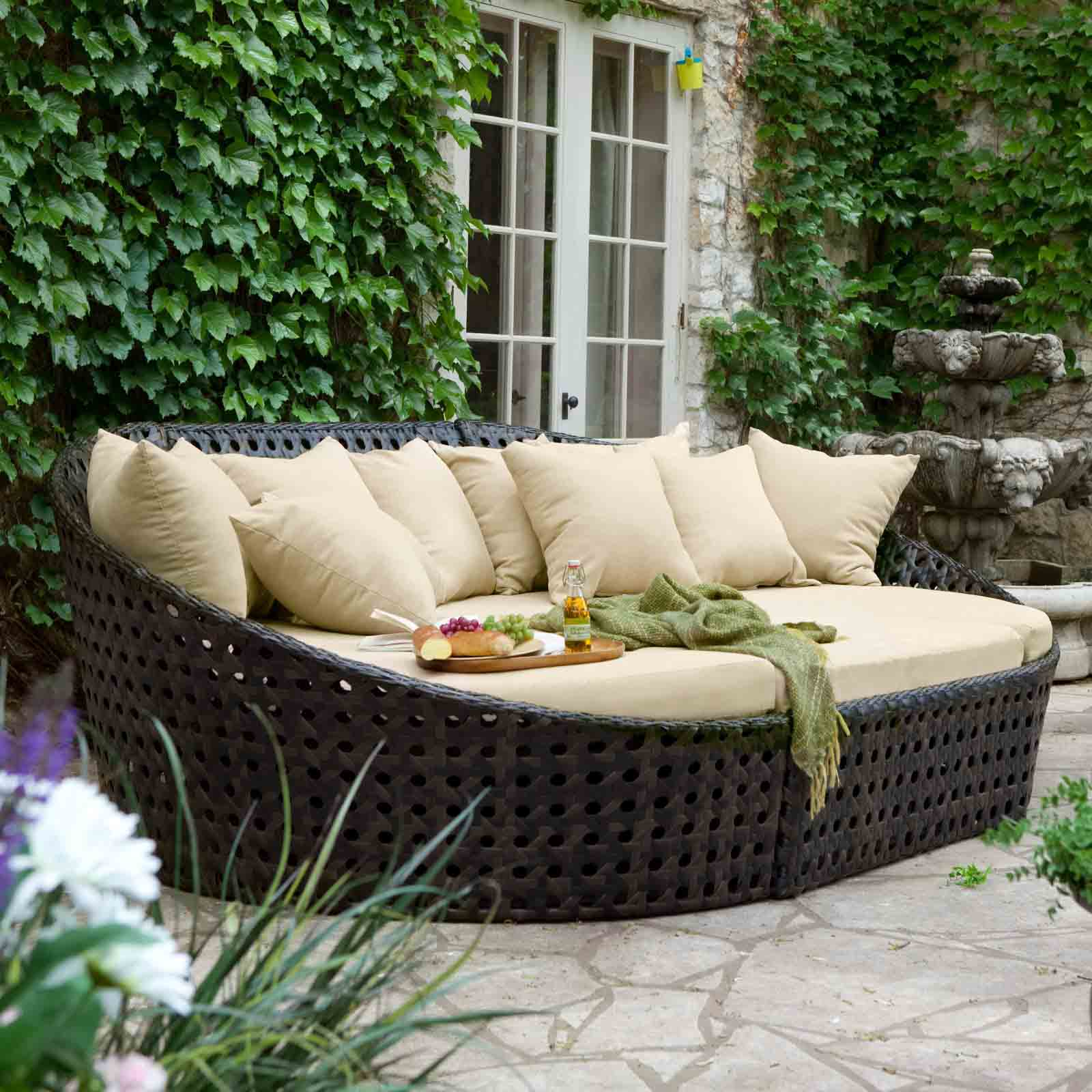 cool resin wicker patio furniture for all weather hgnv com - Garden Furniture 4 All