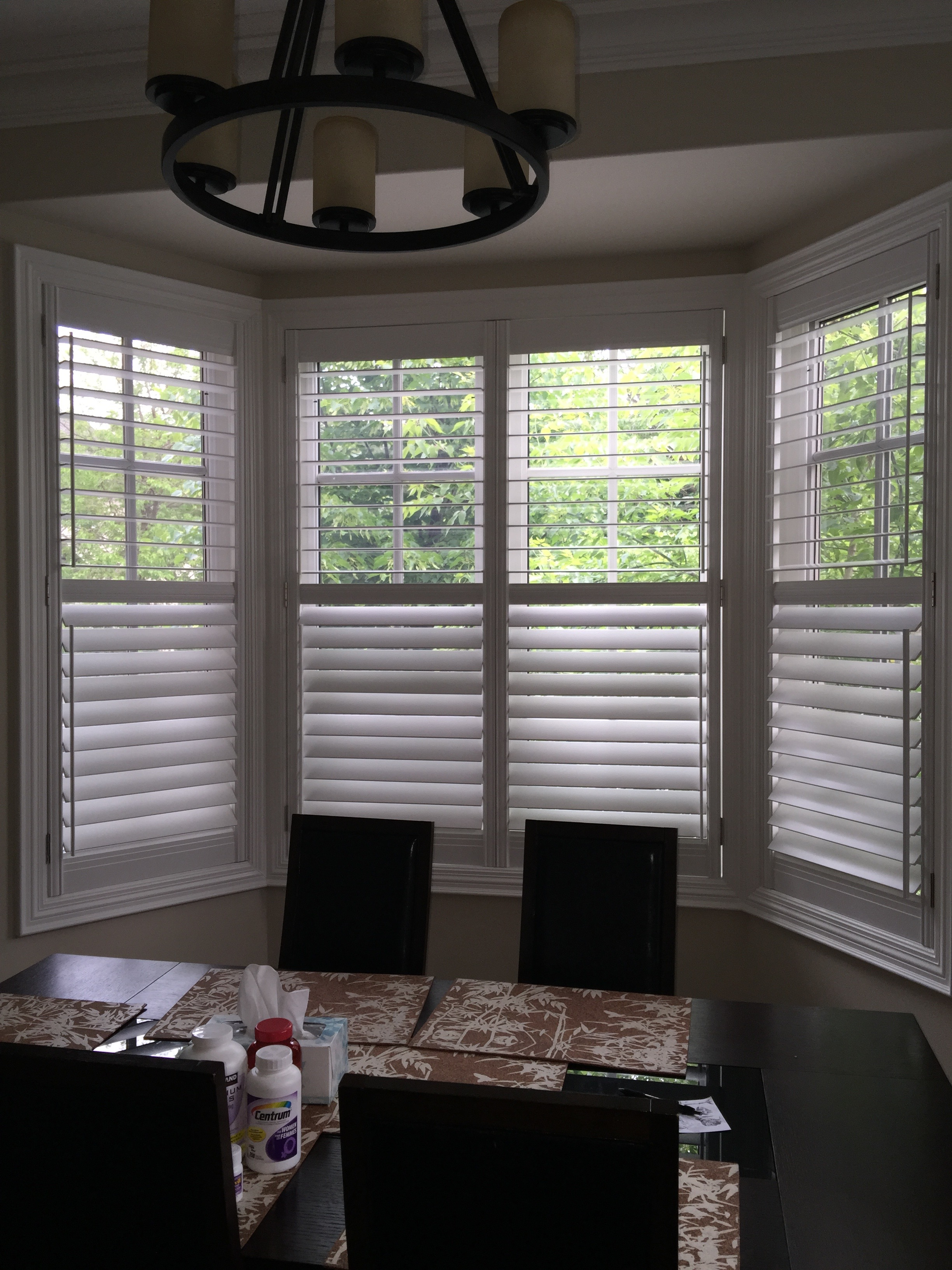 stylish window shutters for window treatment ideas