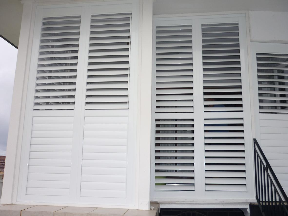 Stylish window shutters for window treatment ideas for Window shutter designs