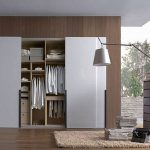 White fitted bedroom furniture sliding wardrobe doors
