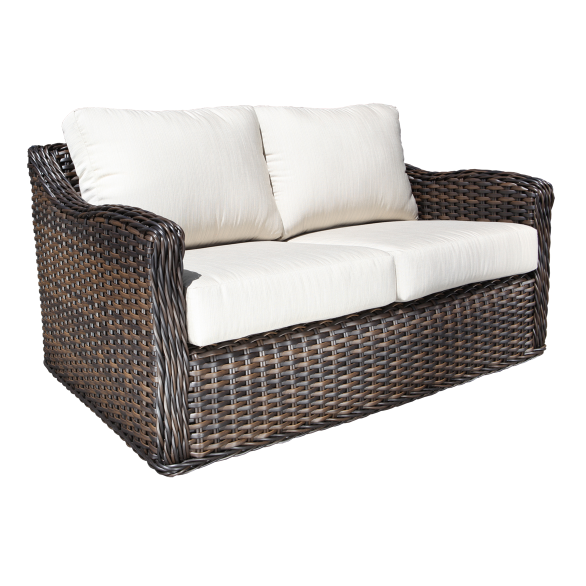 Cool resin wicker patio furniture for all weather hgnv com for Outdoor wicker furniture