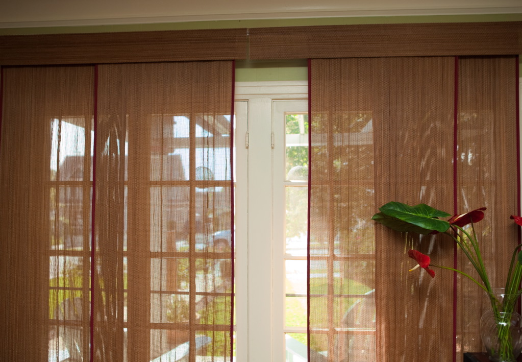 VIEW IN GALLERY Window Treatments For Sliding Glass Doors With Vertical Blinds