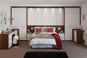 custom fitted wardrobe design ideas for bedroom