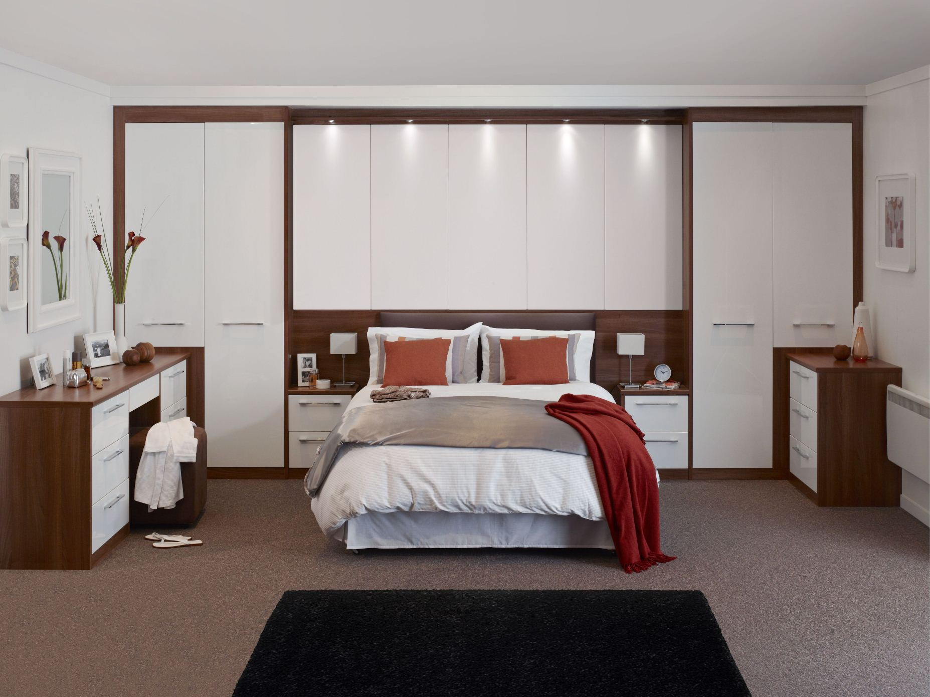 22 fitted bedroom wardrobes design to create a wow moment for Custom bedroom designs