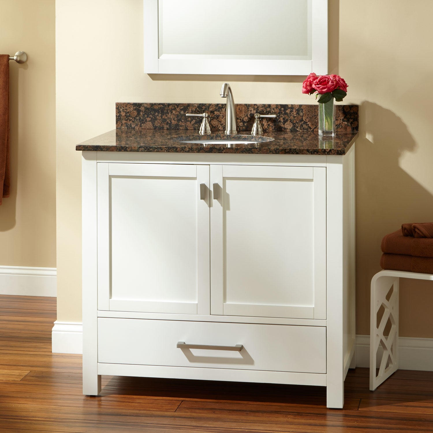 view in gallery 36 white bathroom vanity with top - White Bathroom Cabinets And Vanities