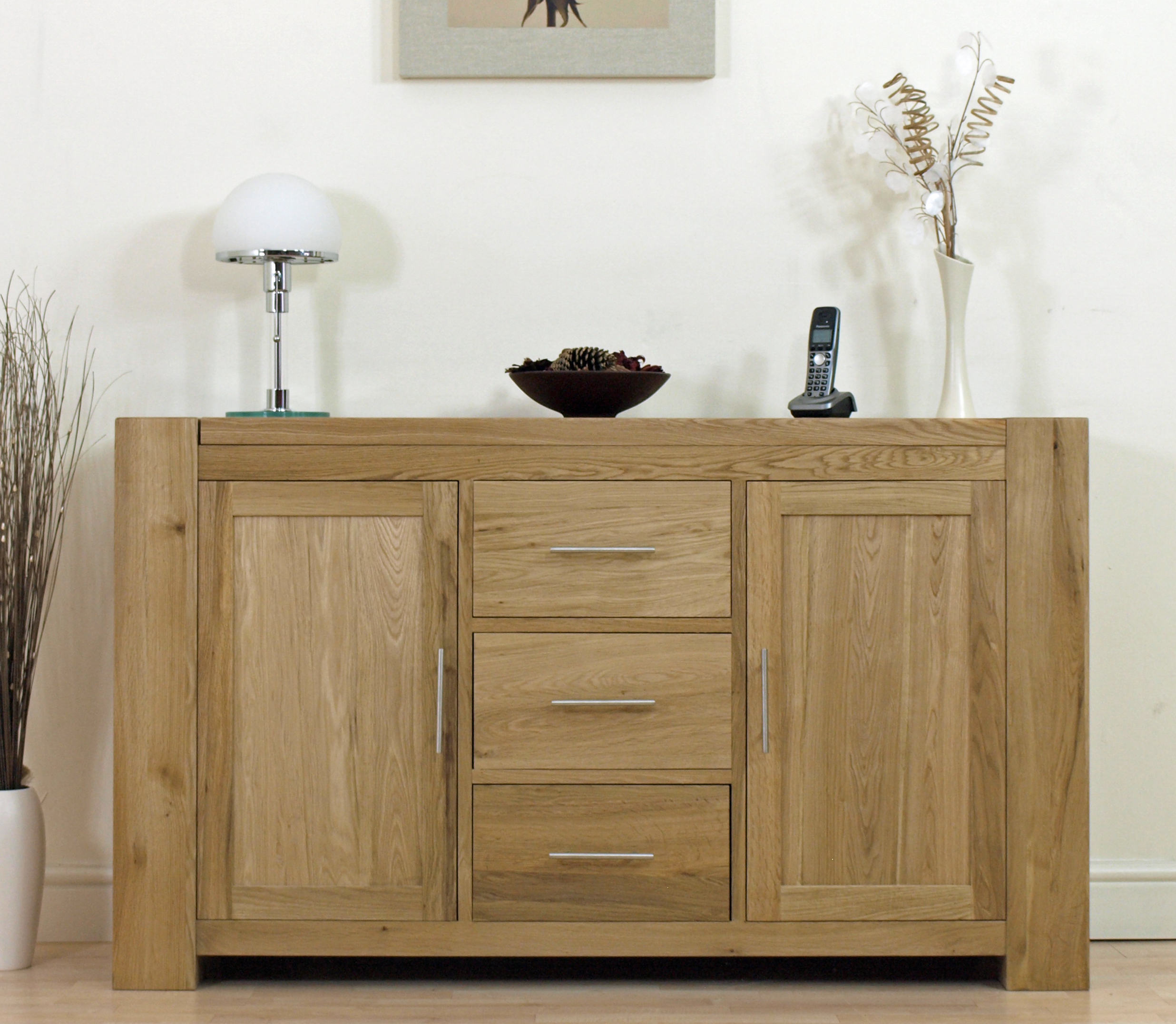VIEW IN GALLERY Awesome Solid Oak Sideboard Living Room Furniture Ideas  With Oak Headboards Part 71