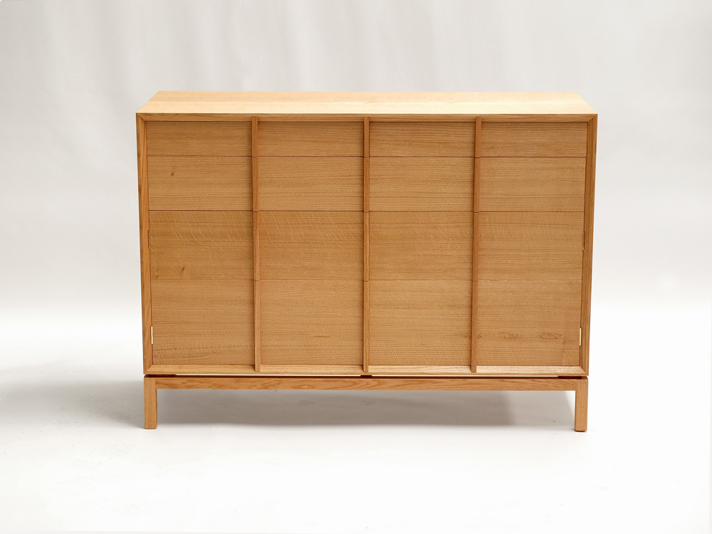 Contemporary oak sideboard modern wooden sideboard furniture