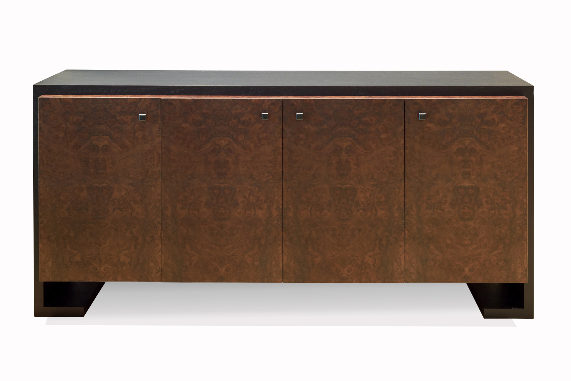 Large solid oak sideboard modern design furniture