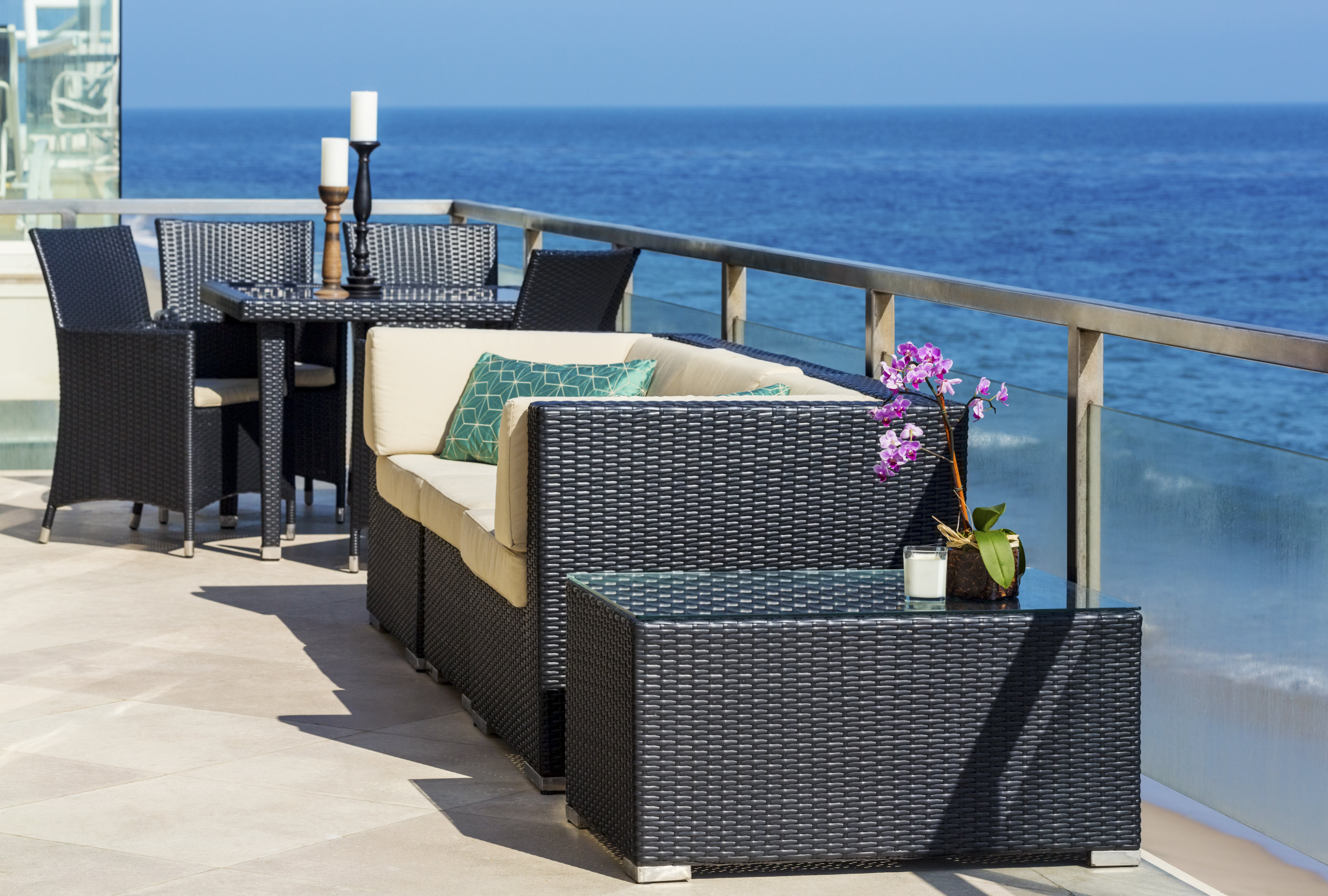 Modern design outdoor patio wicker furniture