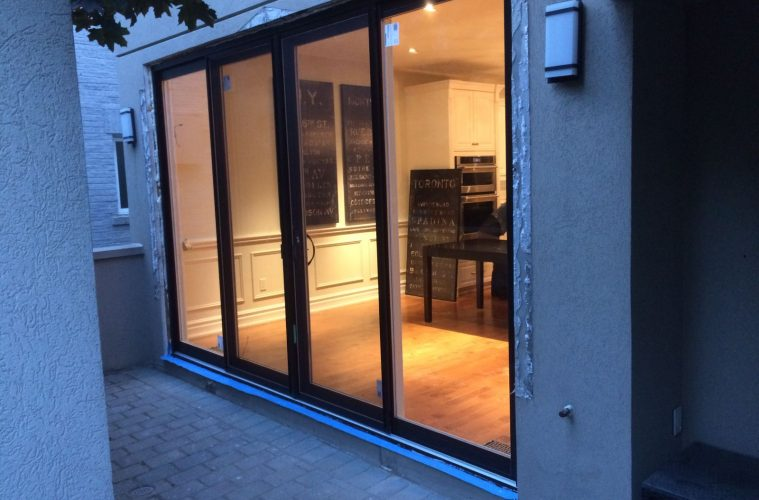 modern exterior oversized sliding patio door by modern doors - Sliding Patio Doors