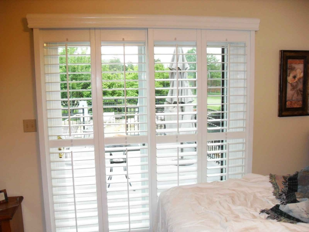 VIEW IN GALLERY Sliding Glass Door With Built In Blinds For Patio Doors