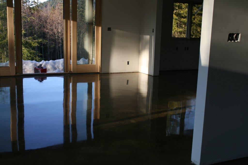 Polished concrete floors reside white polished concrete ntial dream home flooring