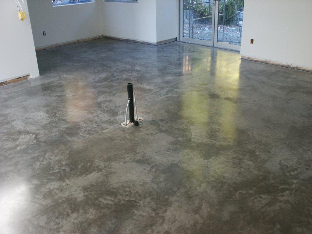 Why polished concrete floor is better than others flooring for Concrete floors in house