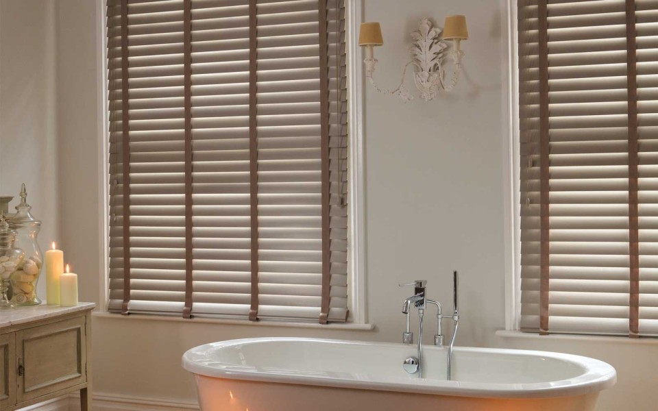 view in gallery horizontal blinds popular window treatments for bay windows