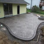 Best stamped concrete patio designs for backyard patio with rustic outdoor patio design
