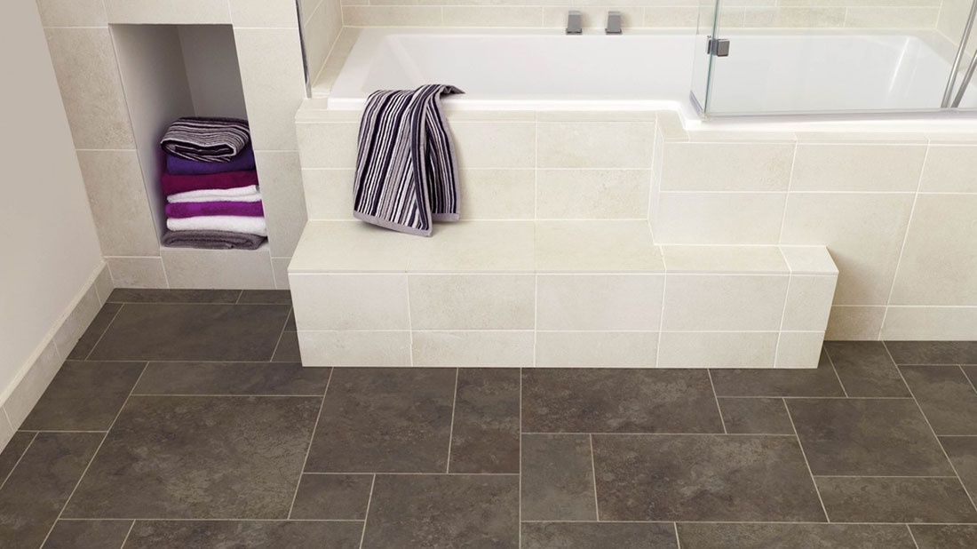 How to lay bathroom tile
