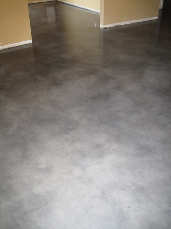 polished concrete floor kitchen cozy residential polished concrete floor decorating ideas 4301
