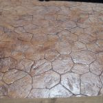 Stamped concrete patio ideas cool outdoor patio and backyard or front yard landscaping ideas