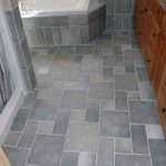 Tiles for bathroom floor