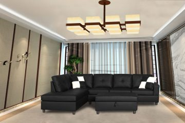 Awesome Black Living Room Furniture Set  Must See Leather Sofa Sets Inspiring Ideas for hgnv