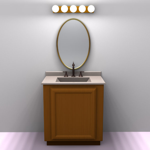 Bathroom Vanity Lights and Fixtures Ideas - HGNV.COM